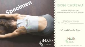 Bon cadeau pour 10 cours de Pilates